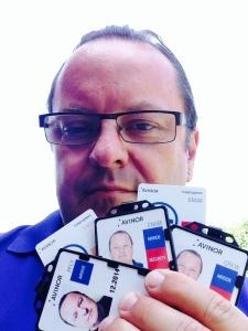Kort prosess: Redaktør Arne H. Krumsvik i AOPA.no klar for flytur.