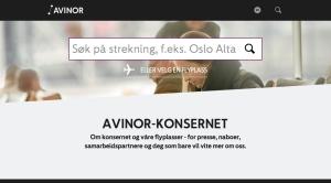 Nye Avinor.no i beta-versjon.