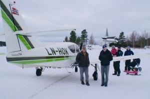 Odd Kerner og LN-HOK har vært suverent flest ganger på Vermundsjøen etter det ble brøyta bane første gang i 1993. Her sammen med kameraten Tom Kristiansen (t.v.).